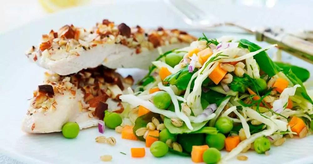 Albondigas Opskrift citron-kylling - frisk og saftig kylling med sprød salat | cooking club
