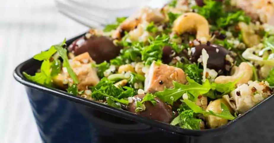 Antiinflammatorisk grøn salat quinoa opskrift velsmurt kreutzer weisdorf