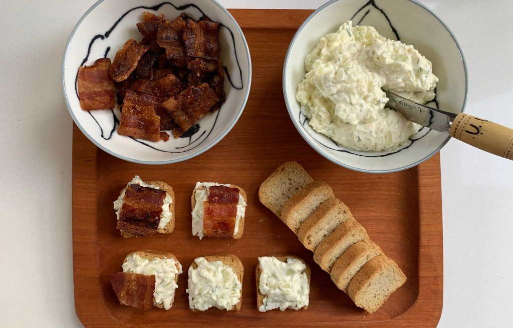 Benedictine Spread with Bacon - CookingCoOp.com