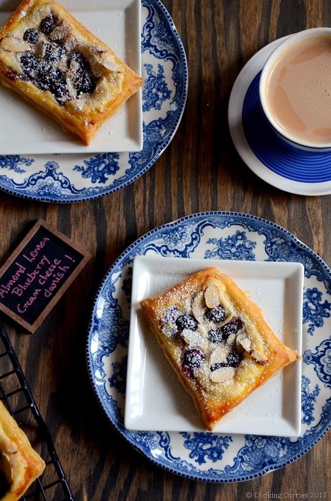 Almond Lemon Blueberry Cream Cheese Danish - Mirch Masala (2)