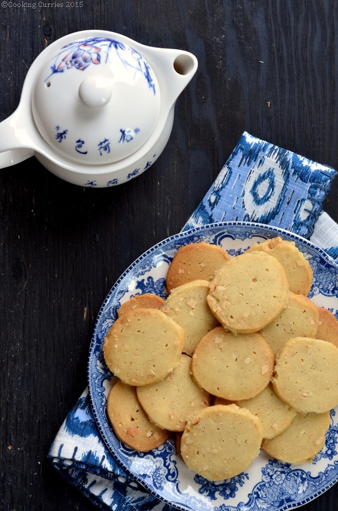 Chai Masala and Cashew Nut Shortbread Cookies -Cooking Curries. (2)