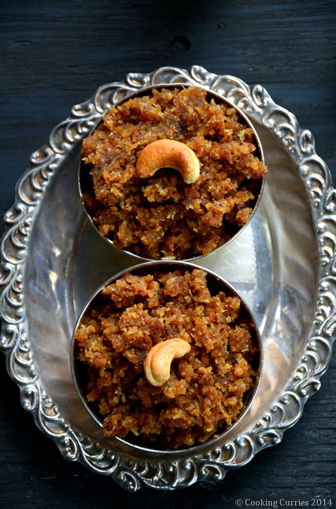 Okkarai - Roasted Chana Dal with Jaggery and Coconut - Diwali Recipe - Mirch Masala (2)