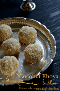 Coconut Khoya Laddoo