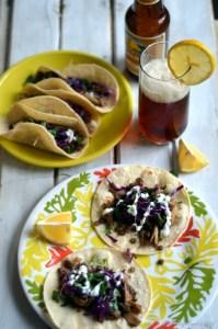 Green Lentils and Maitake Mushroom Tacos   Gluten Free, Vegetarian