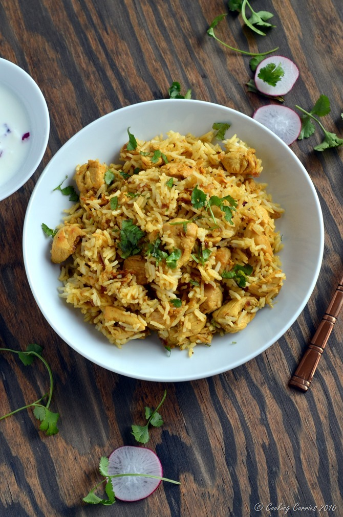 Chicken Pualo , Chicken Pulav - Gluten Free Indian - Cooking Curries (3)