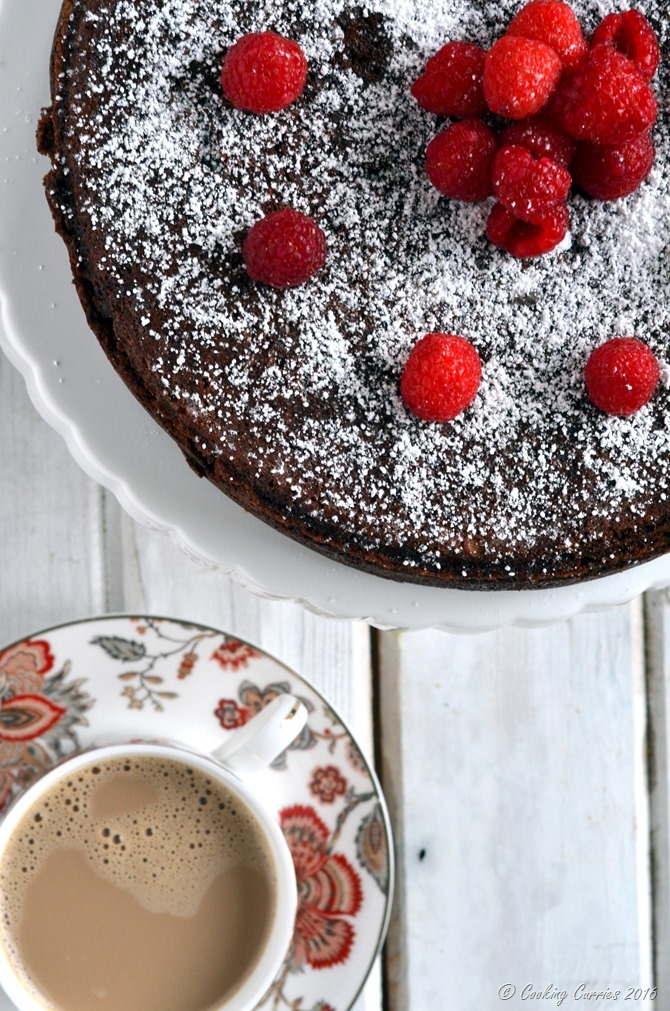 Flourless Chocolate Almond Torte - Cooking Curries - Gluten Free Vegetarian Dessert (3)