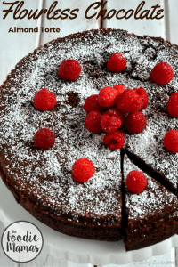 Flourless Chocolate Almond Torte | FoodieMamas