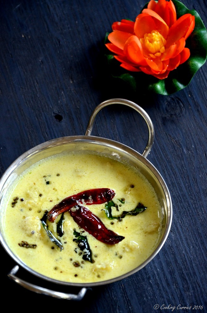 Pazham Pulisseri - Pazham Pulissery - Cooking Curries - Kerala Sadya, Onam, Vishu (3)