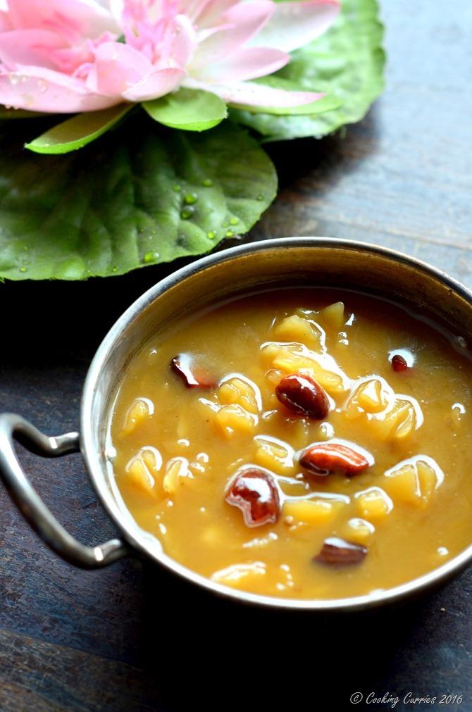 Ada Pradhaman - A Kerala Sadya Recipe - Vegetarian, Vegan, Gluten Free - www.cookingcurries.com (3)