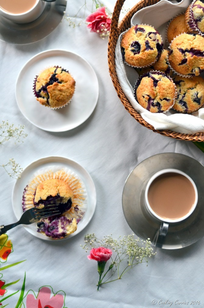 Meyer Lemon Blueberry Muffins - A Spring Recipe - Breakfast Brunch - www.cookingcurries.com (7)