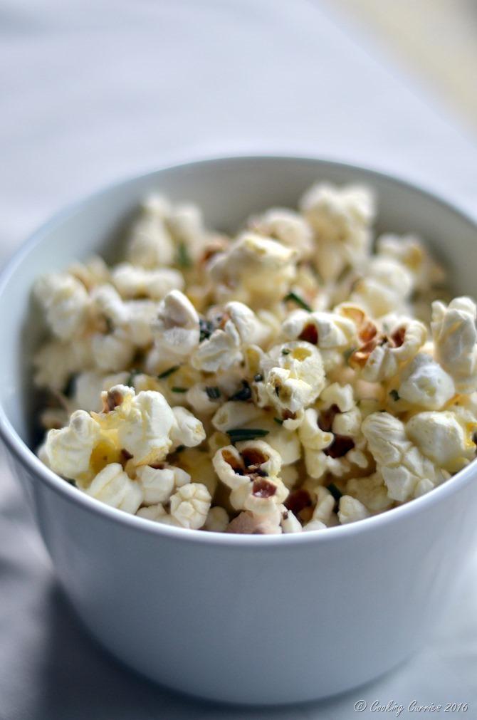 Truffle Rosemary Popcorn - Gluten Free, Vegan - Kid Friendly Snack - www.cookingcurries.com (2)