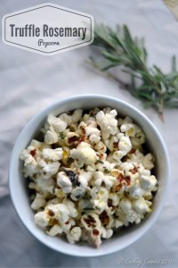 Truffle Rosemary Popcorn
