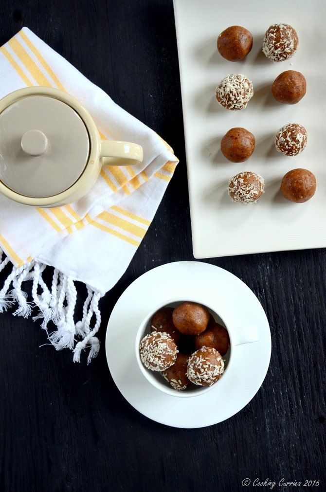 Almond Peanut Butter Rum Balls - no cook no bake recipe - www.cookingcurries.com (3)