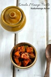 Kerala Mango Pickle ~ Kadumanga Achar