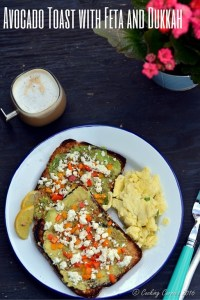 Avocado Toast with Feta and Dukkah