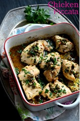 Chicken Piccata - Chicken Recipes, Easy Weeknight Dinner, Family Dinner Recipes - Cooking Curries