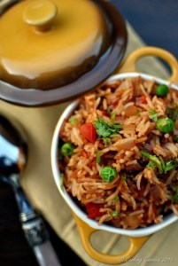 Tawa Pulao - Basmati Rice with Vegetables and Spices - Vegan   Gluten Free