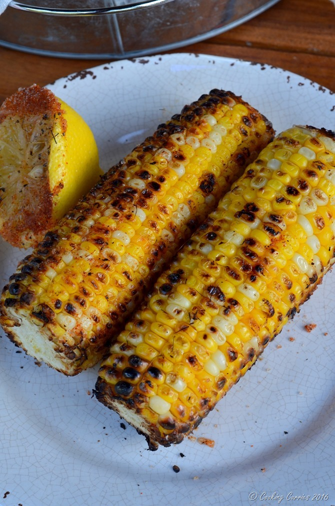 Indian Style Grilled Corn - Bhutta (7)
