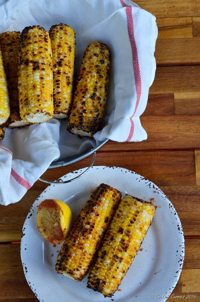Indian Style Grilled Corn - Bhutta (8)
