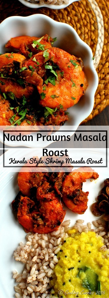 Nadan Prawns Masala Roast - Kerala Style Shrimp Masala Roast - www.cookingcurries.com- (5)