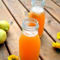 Peach Lemonade - A Summer Cooler
