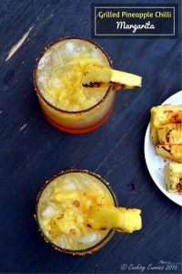 Grilled Pineapple Chilli Margarita