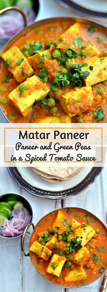 Matar Paneer - Paneer and Green Peas in a Spiced Tomato Sauce - www.cookingcurries.com (2)