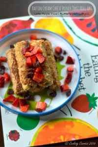 Raisin Cream Cheese French Toast Roll Ups   Little People Food