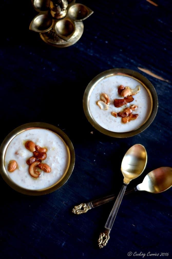 Slow Cooker Pal Ada Pradhaman - Rice Pasta and Milk Pudding - Kerala Sadya Recipe, Onam, Vishu - www.cookingcurries.com (2)