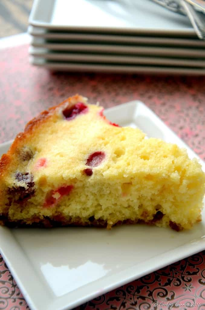 Cranberry Upside Down Cake - Thanksgiving Dessert (3)