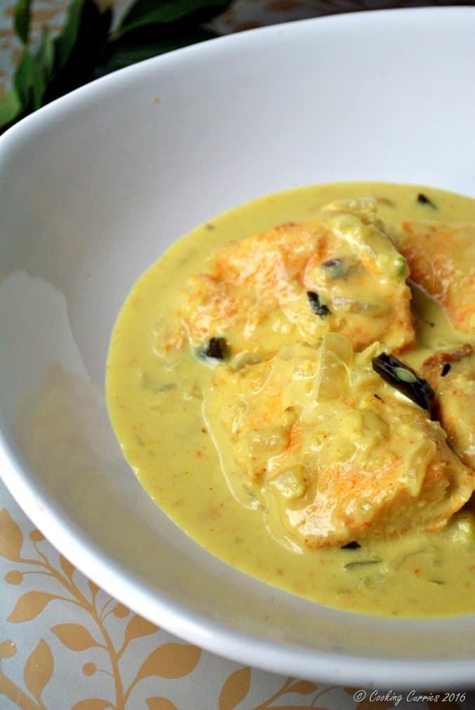 Fish Molee - Kerala Style Fish Curry with Coconut Milk - Kerala Christmas Recipes (2)