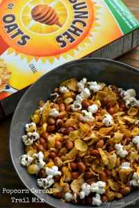 Popcorn Cereal Trail Mix