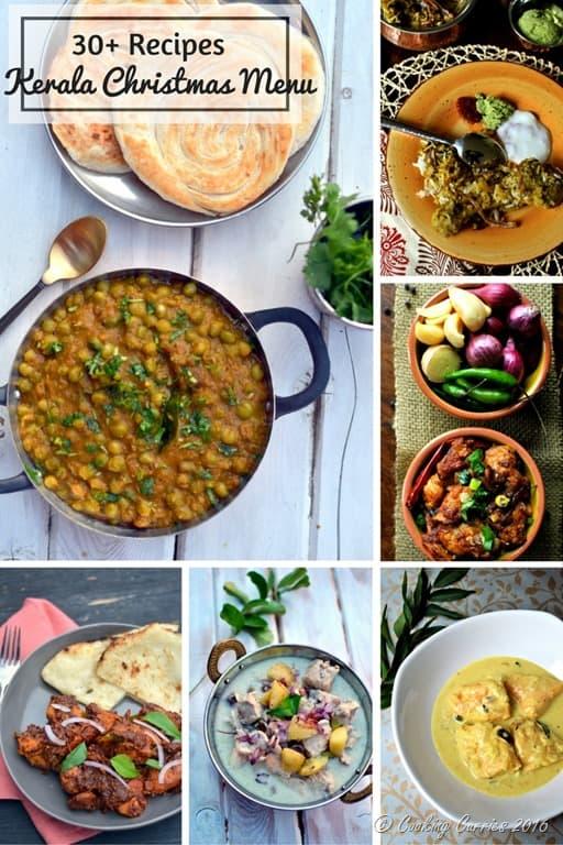 Kerala Christmas Menu - Cooking Curries