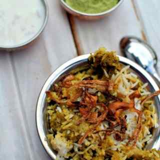 Kerala Style Chicken Biryani