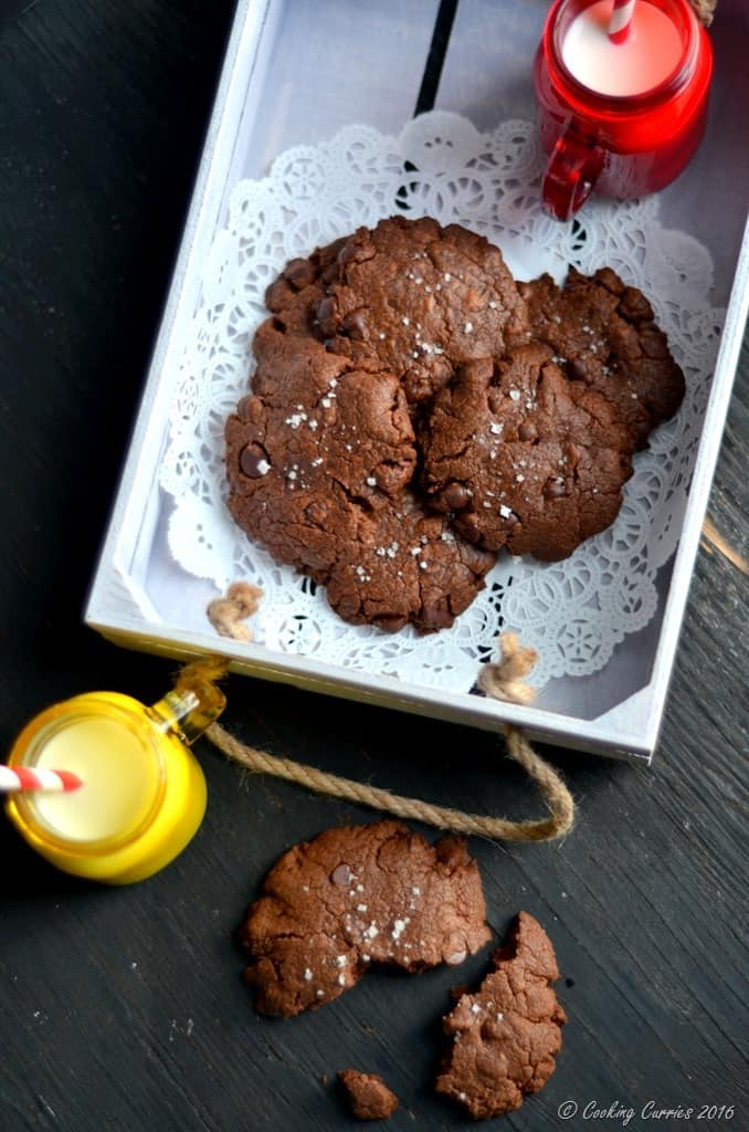 Salted Nutella Chocolate Chip Cookies (5)