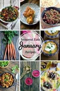Seasonal Eats – January