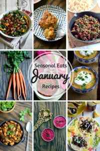 Seasonal Eats – January