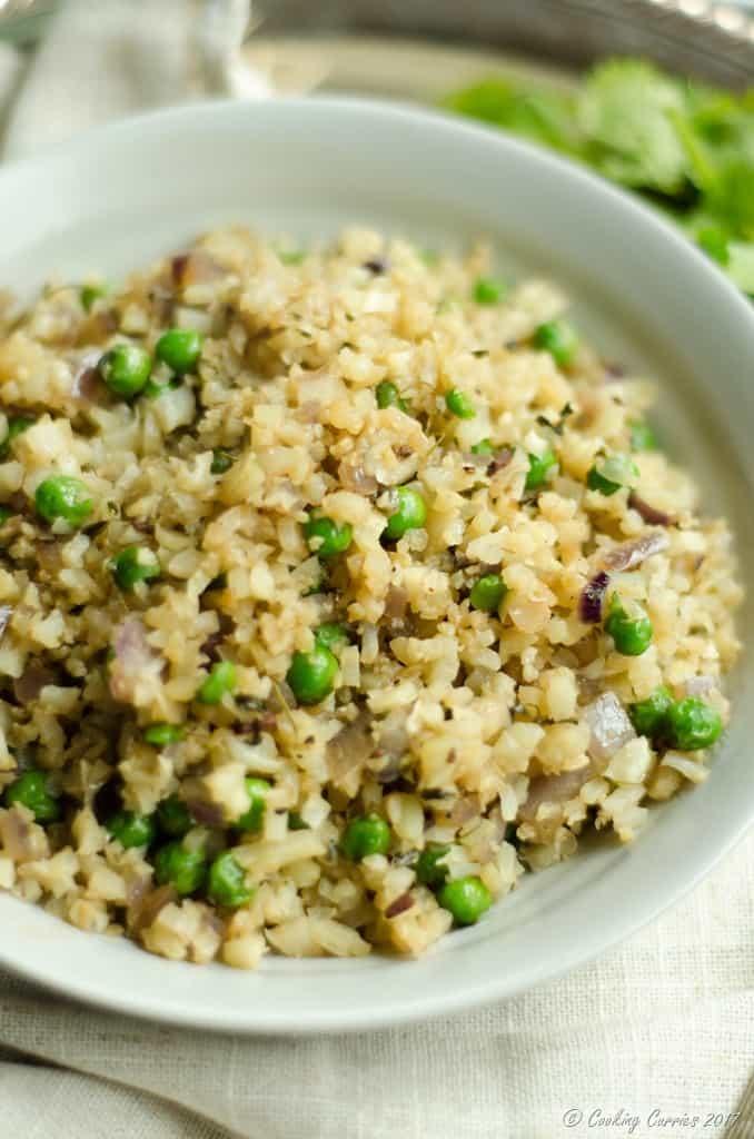 Cauli Rice Peas Pulao (1 of 10)