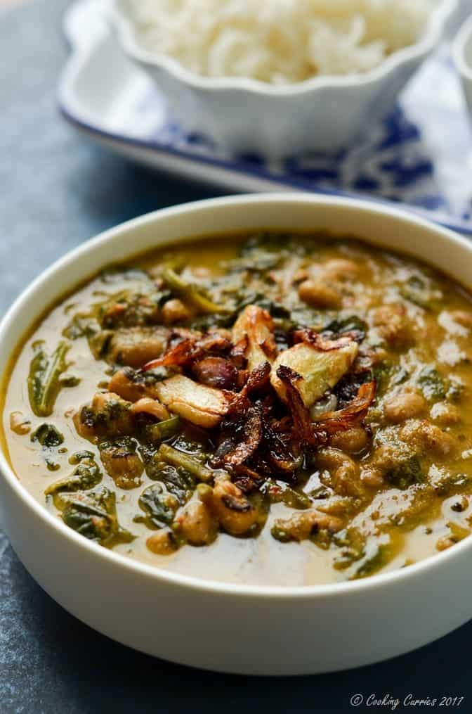 Mangalorean Black Eyed Peas and Spinach Curry (5 of 5)