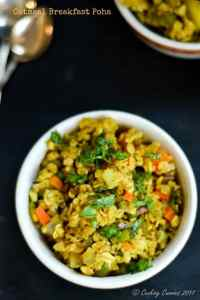 Oatmeal Breakfast Poha