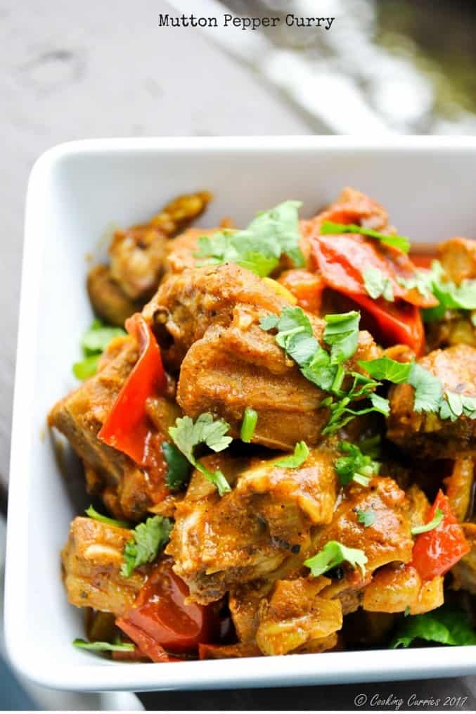 Mutton Pepper Curry