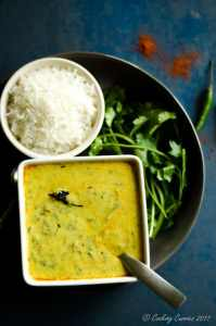 Palak Kadhi – Spinach Yogurt Curry