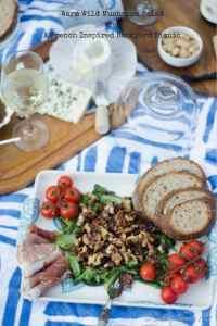 Warm Wild Mushroom Salad and a French Inspired Backyard Picnic