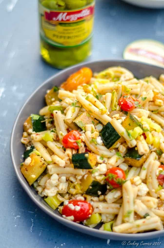 Mediterranean Pasta Salad with Grilled Summer Vegetables (7 of 7)
