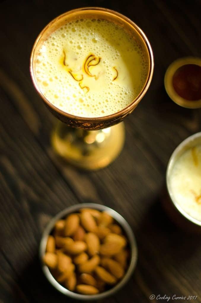 Saffron Almond Milk - Kesar Badam Doodh (5 of 7)