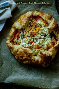 Butternut Squash Goat Cheese Galette {Video Recipe}