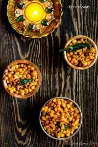 Kara Boondi – Spicy Fried Chickpea Flour Dumplings