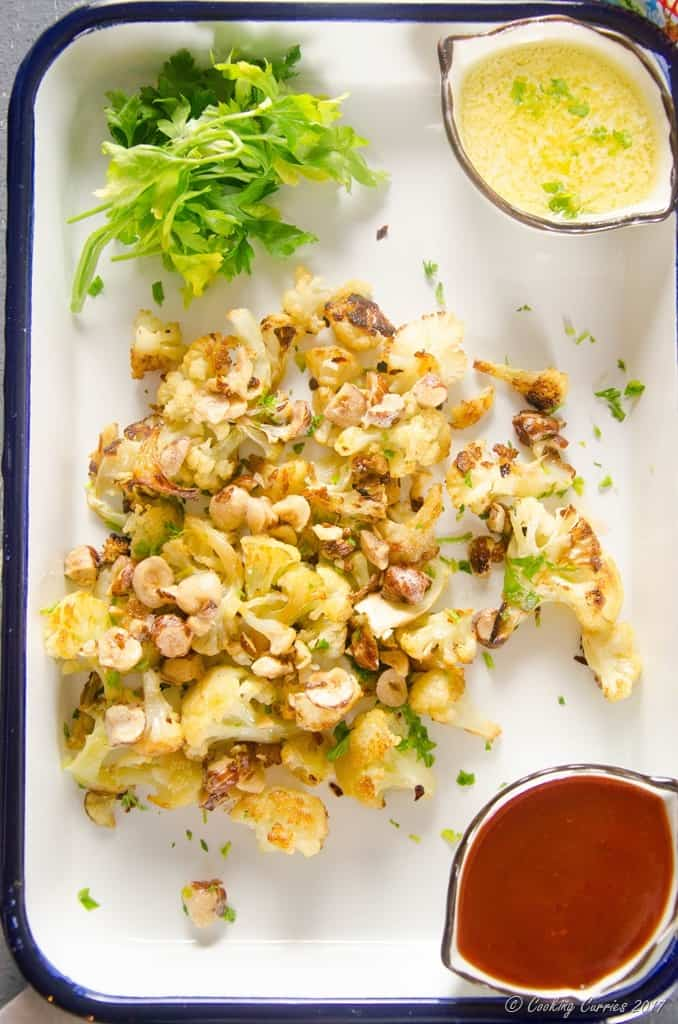 Roasted Cauliflower with Brown Butter Hazelnuts (3 of 4)