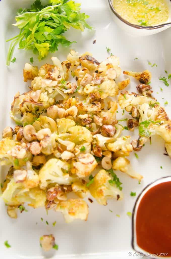 Roasted Cauliflower with Brown Butter Hazelnuts (4 of 5)