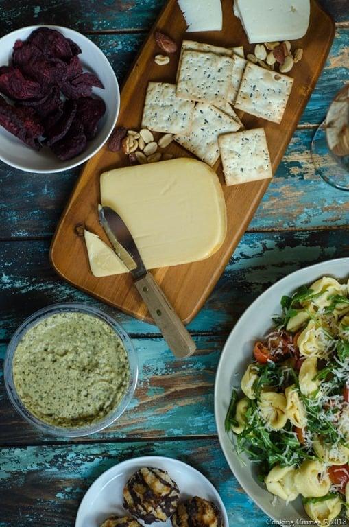 Lemon Garlic Tortellini Salad - Spring Picnic  (2 of 6)